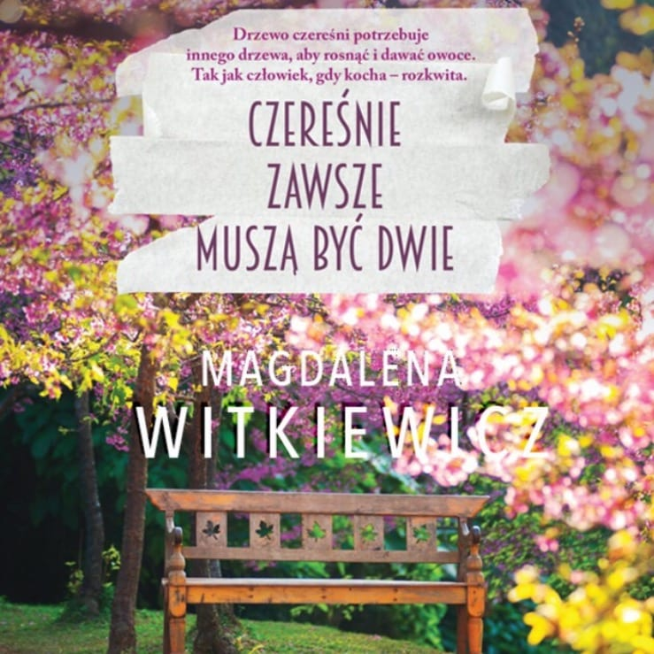 Magdalena Witkiewicz, Czereśnie zawsze muszą być dwie, Storytel.