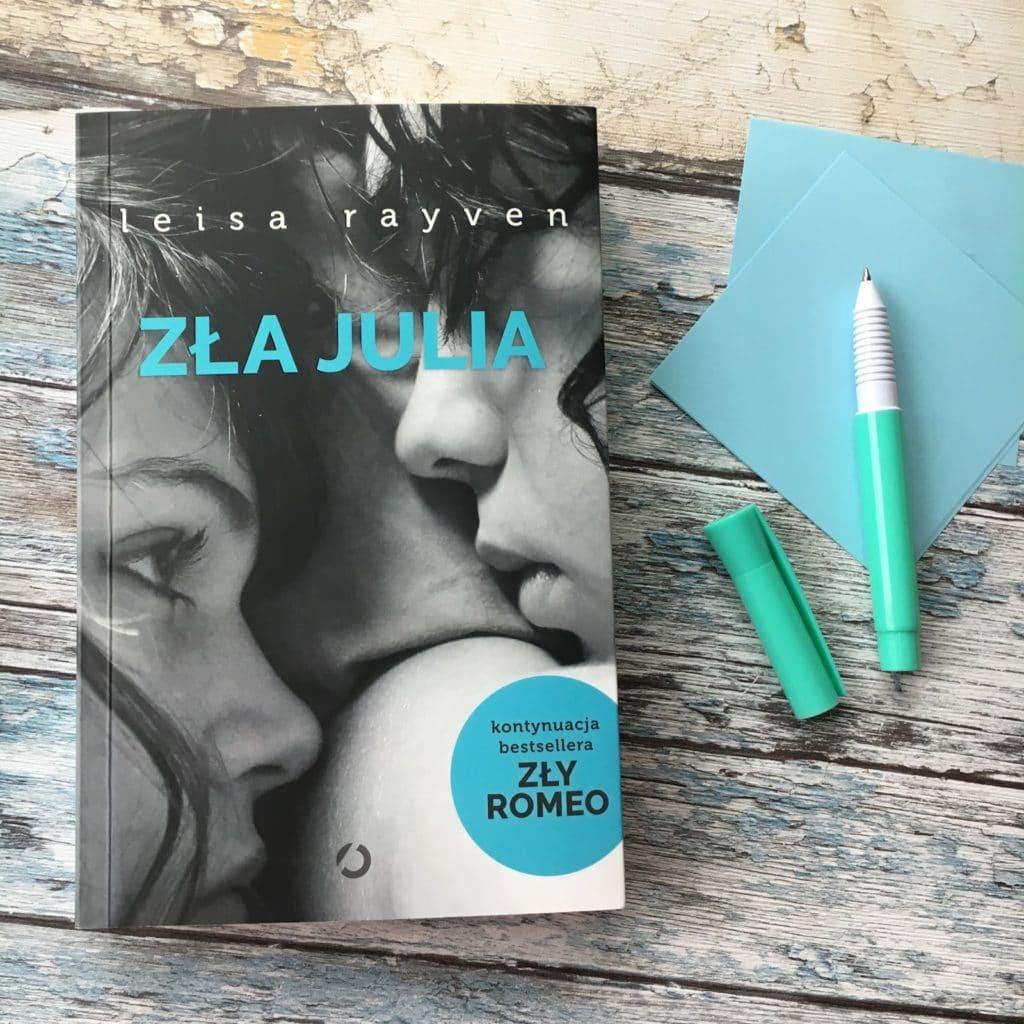 Leisa Rayven i jej najnowsza książka Zła Julia.