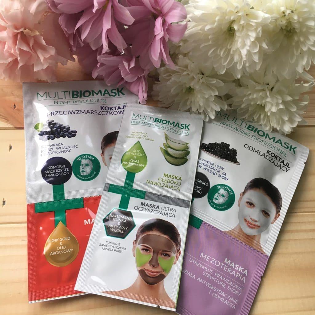 3 produkty to seria mini recenzji, dziś maski do twarzy z Multi BioMask.