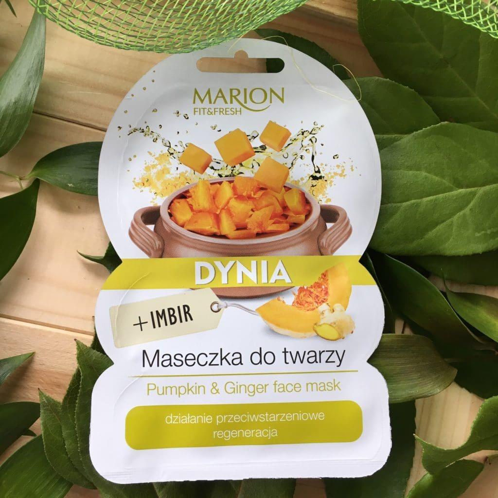 Moje wrażenia z 3 nowych maseczek od twarzy od Marion, Fit&Fresh, zdrowe warzywa + aromatyczne przyprawy, naturalne piękno.