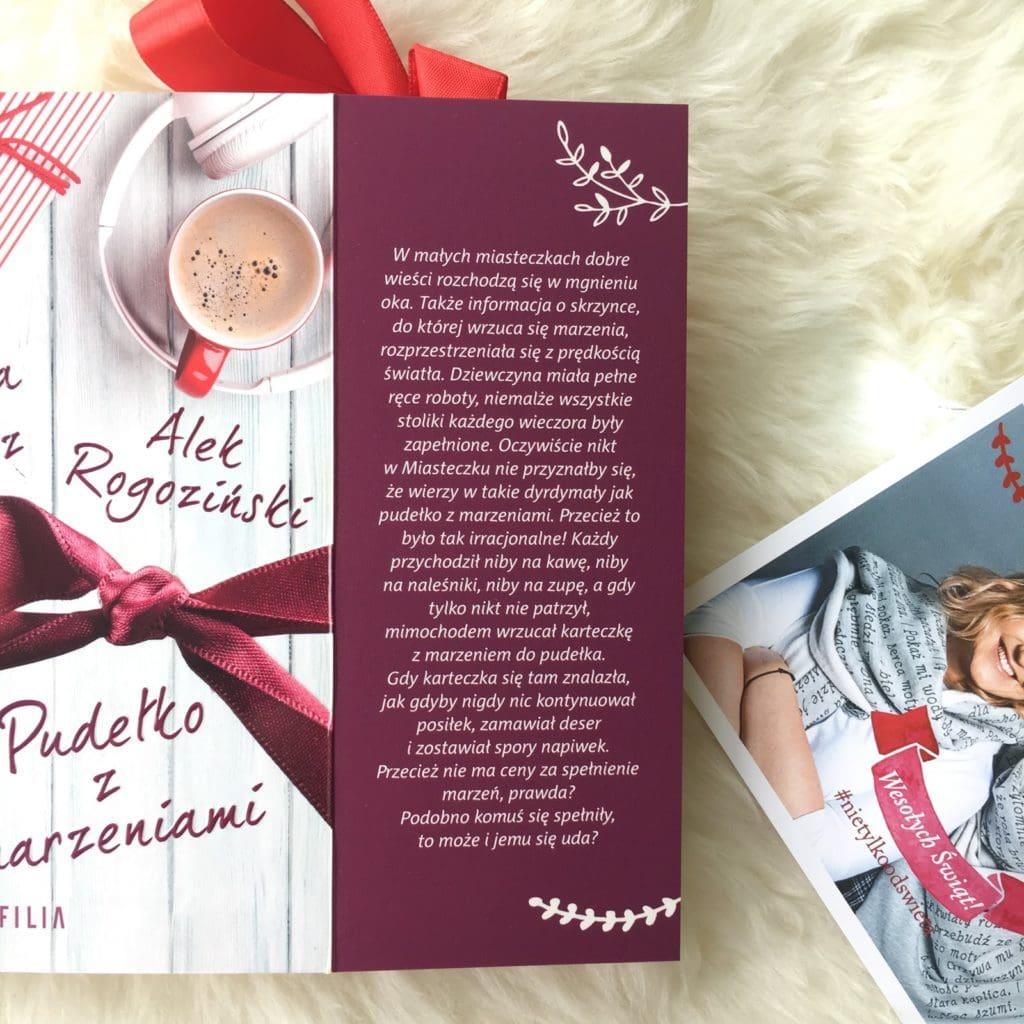 Pudełko z marzeniami, najnowsza powieść Magdaleny Witkiewicz i Alka Rogozińskiego. Premiera 08.11.2017.