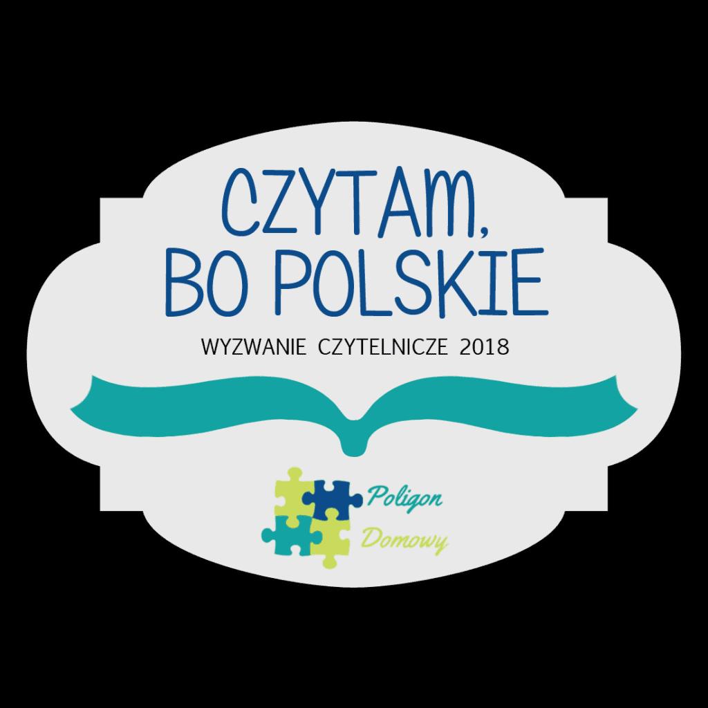Czytam bo polskie, wyzwanie czytelnicze 2018.