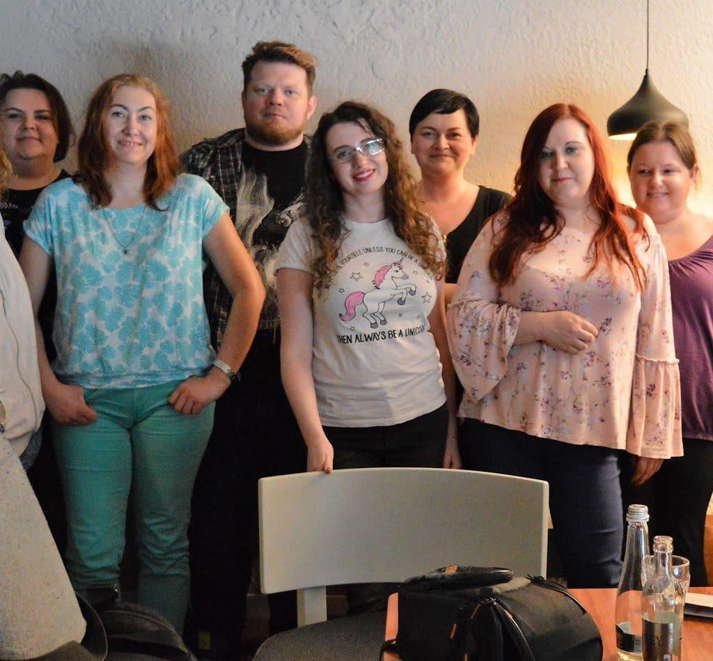 Spotkanie blogerek w Gdyni 14.04.2018 organizowane przez Czerwoną filiżankę.