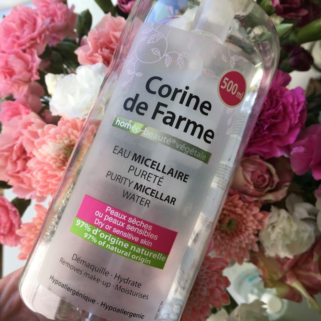 3 produkty to seria mini recenzji, dziś  płyn micelarny z Corine de Farme, Oillan oraz Vianek.