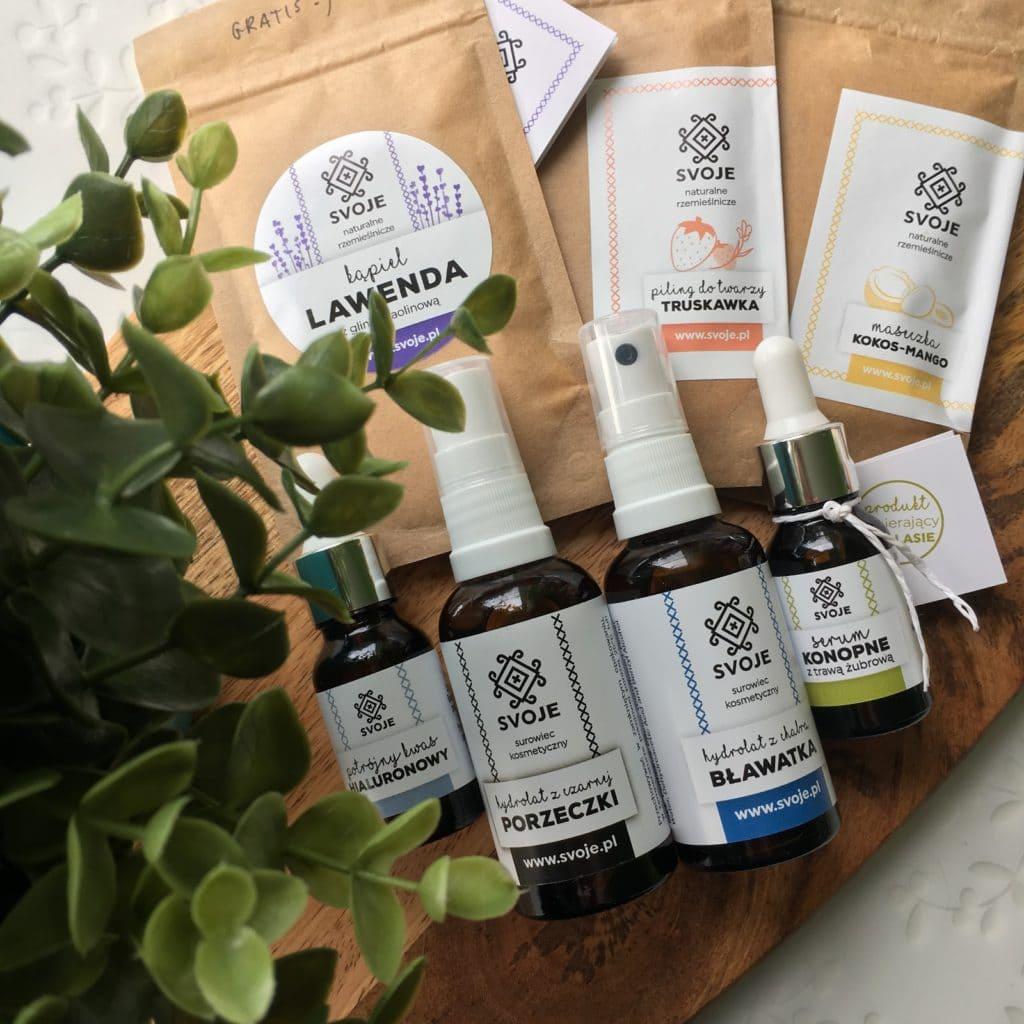 Moje pierwsze spotkanie z Rzemieślniczymi Kosmetykami Naturalnymi SVOJE.