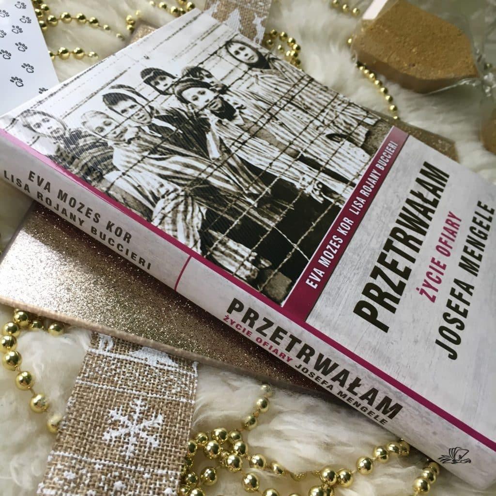 Przetrwałam, Życie ofiary Josefa Mengele to książka oparta na losach Evy Mozes Kor i jej siostry bliźniaczki, napisana przez  Lisę Rojany Buccieri.
