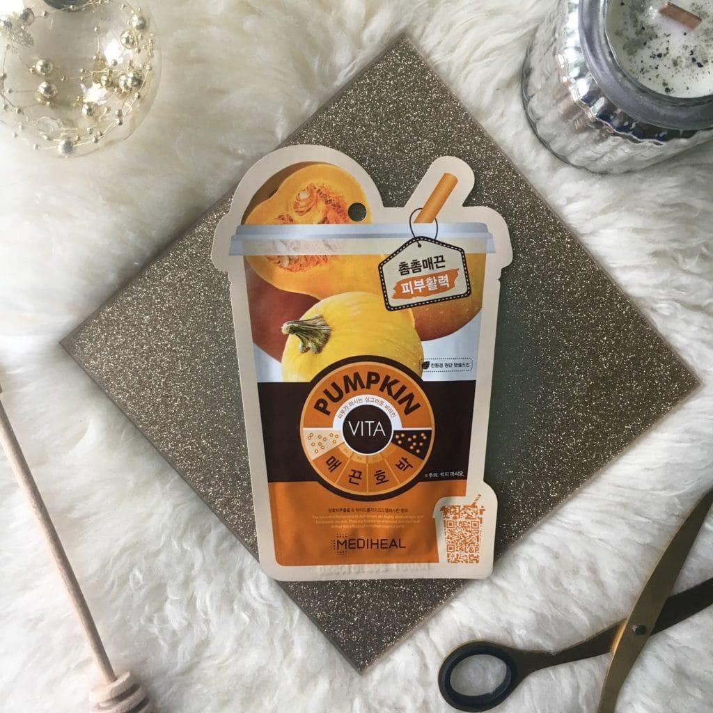 Maski w płacie, seria Vita Mask z Mediheal, czyli moje wrażenia po zużyciu Cacao, Pumpkin oraz Lemonlime.