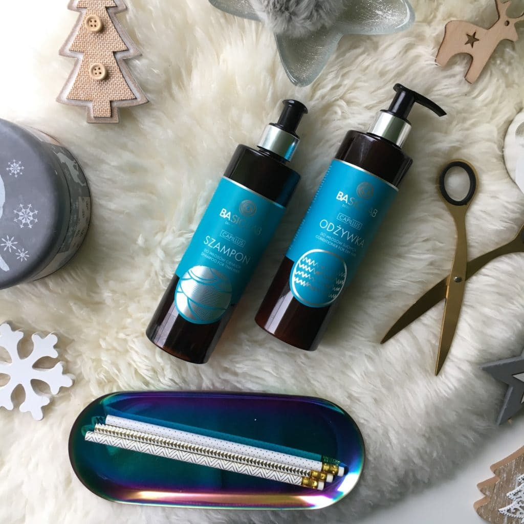 Moje wrażenia, na temat szamponu do włosów cienkich oraz odżywka do włosów suchych z Basiclab.