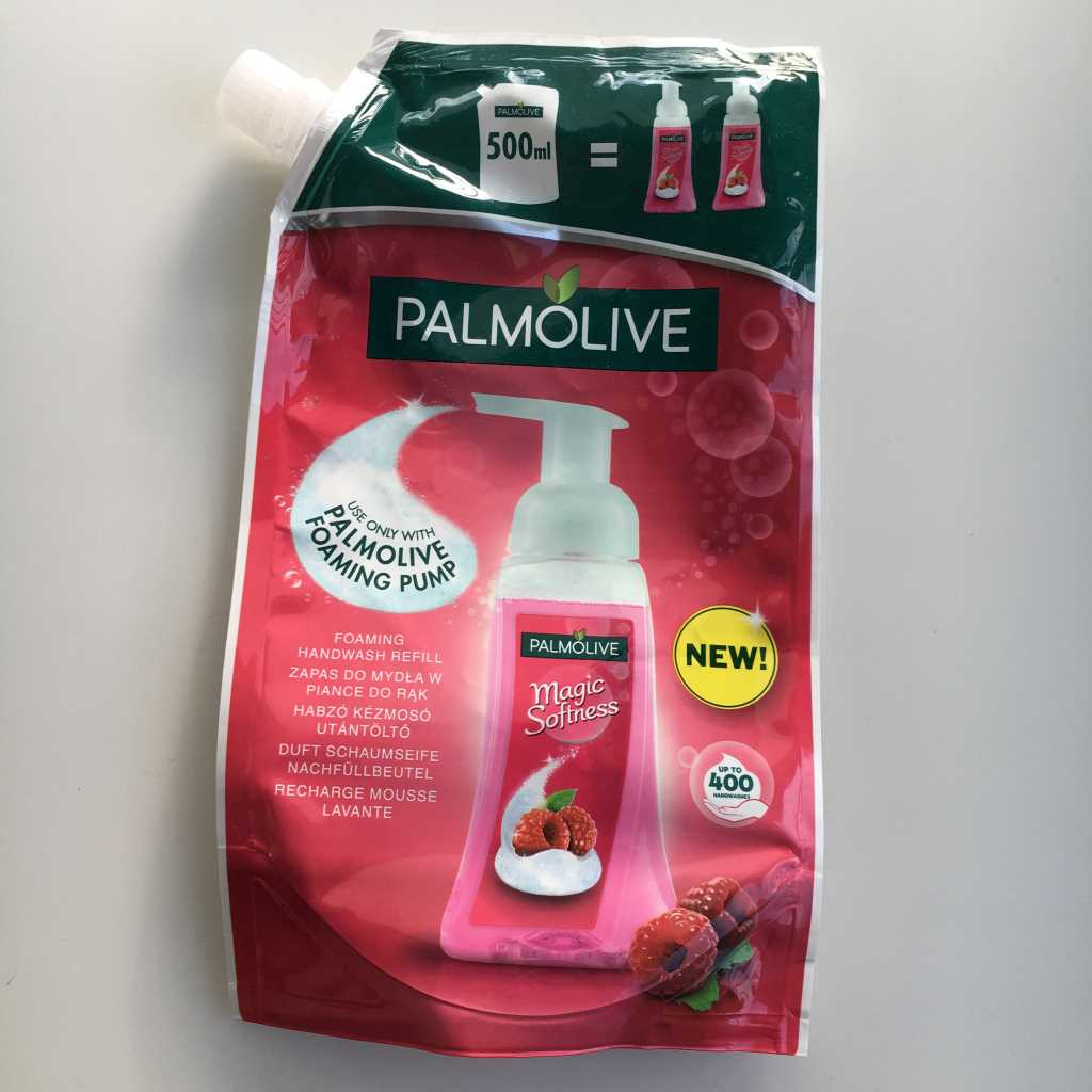 Palmolive, Magic Softness, Pianka do mycia rąk.