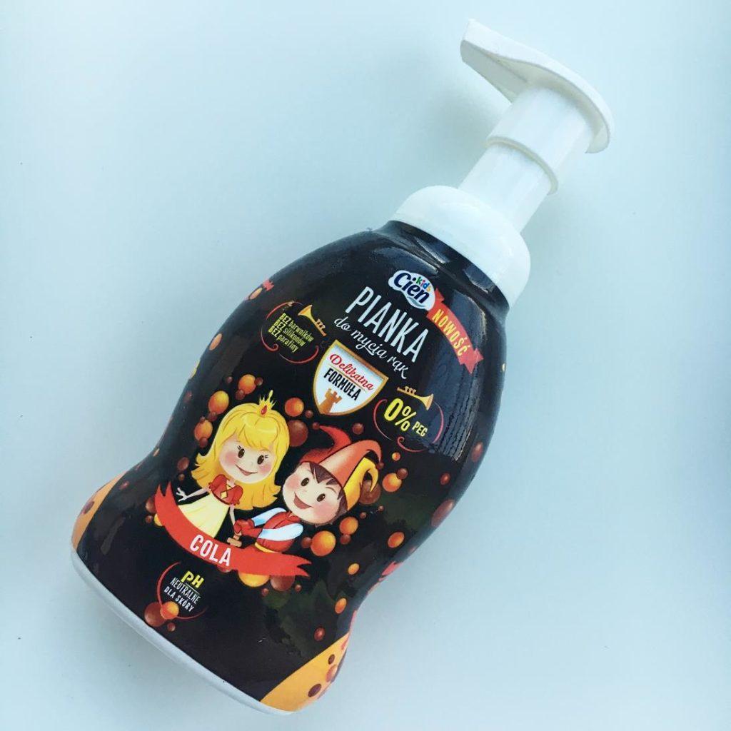 Pianka do mycia rąk z Cien.