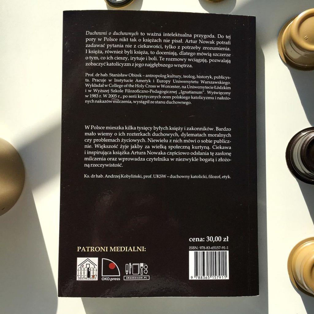 Duchowni o duchownych, najnowsza książka Artura Nowaka.