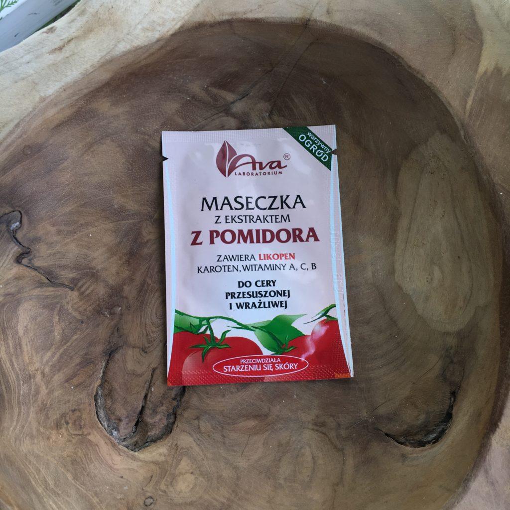 Maseczka z ekstraktem z pomidora z Ava.