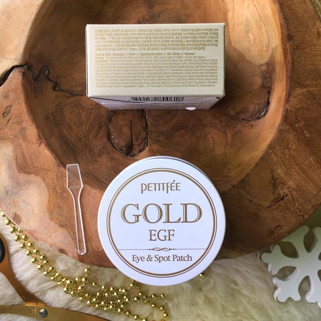 Hydrożelowe płatki pod oczy, Gold EGF Eye & Spot Patch z Petitfee.