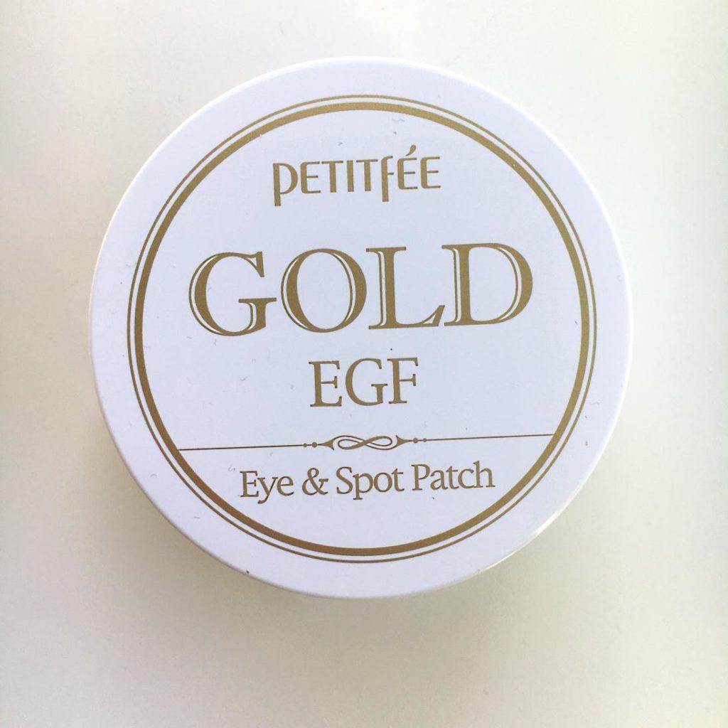 Gold EGF Eye & Spot Patch, czyli hydrożelowe płatki pod oczy z Petitfee.