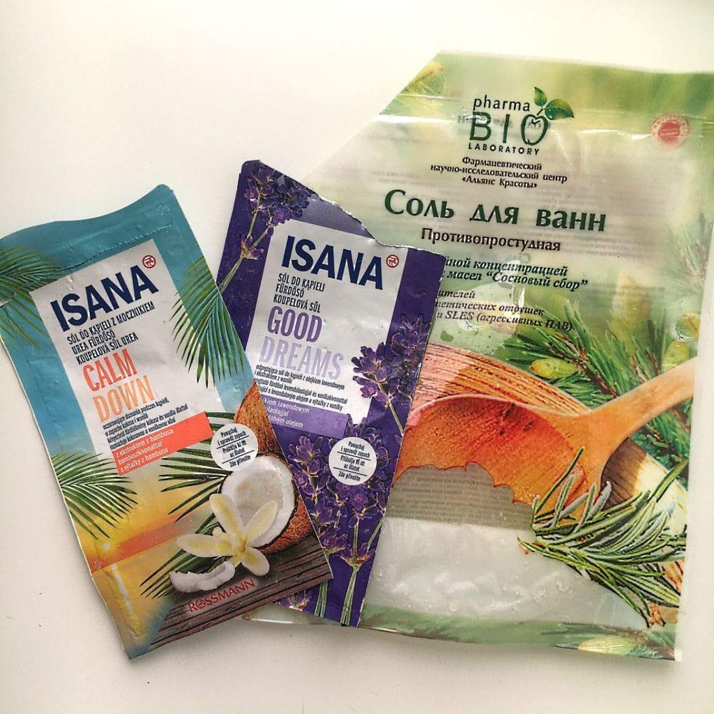 Umilacze kąpieli z Isana i Pharma Bio Laboratory.