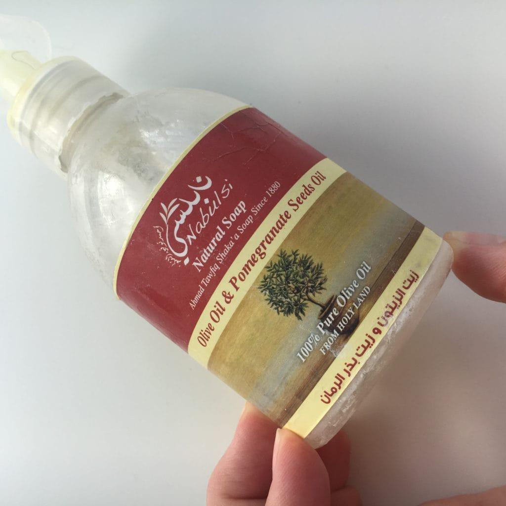 Natural Soap z Nabulsi.