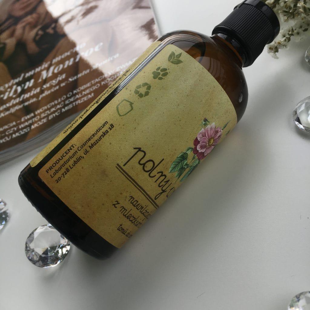 Polny warkocz - Nawilżająca esencja z mleczkiem pszczelim