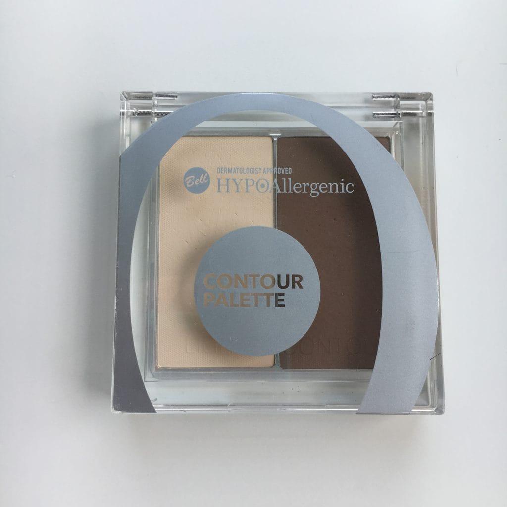 Bell - HypoAllergenic - Contour Palette - Paleta do konturowania - 01