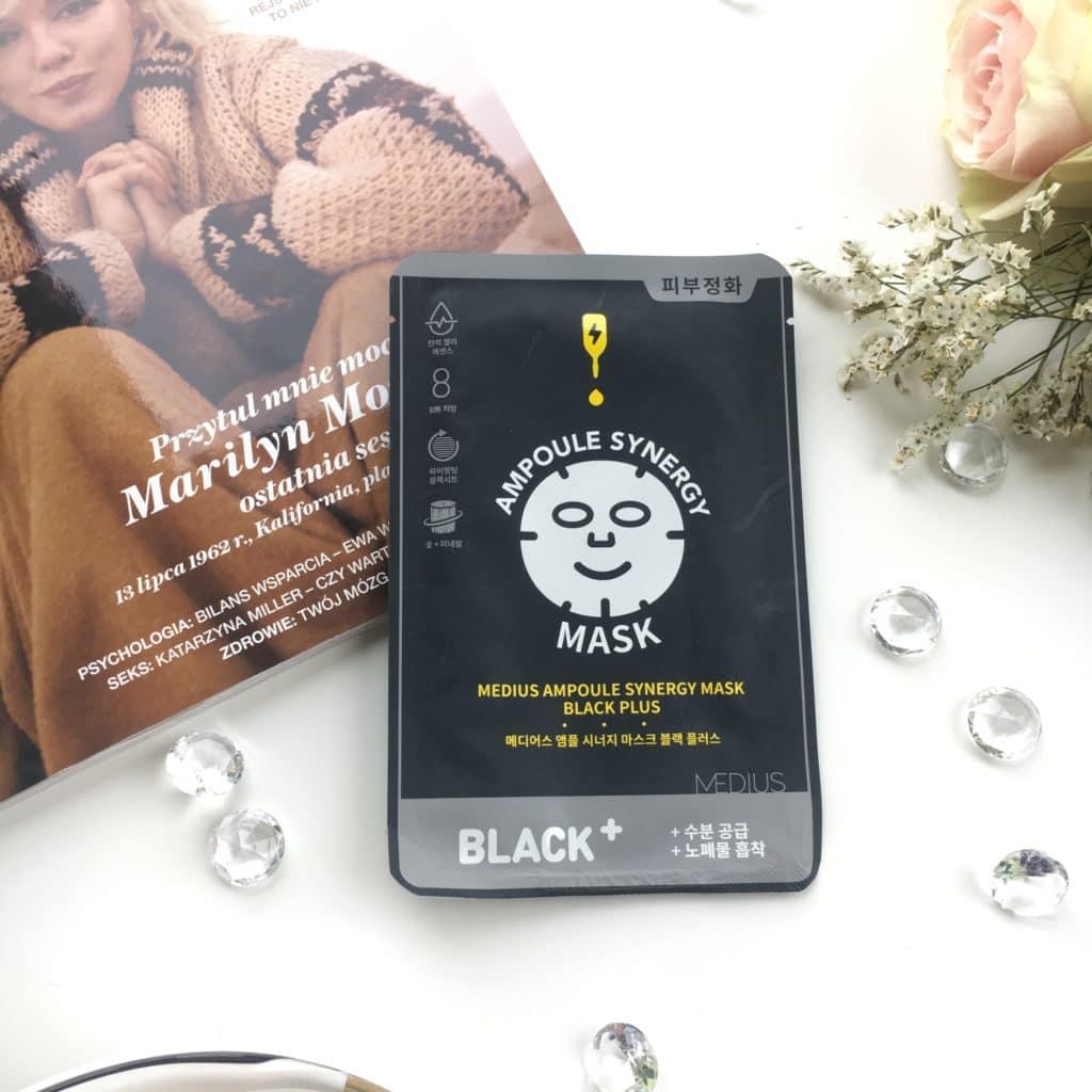 Black Plus - Ampoule Synergy Mask - Medius