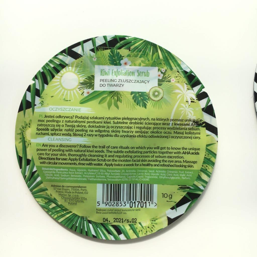 Kiwi Exfoliation Scrub - Peeling złuszczający do twarzy
