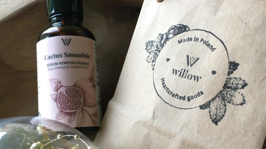Willow Organics - Cactus Smoothie – Naturalne serum rewitalizujące