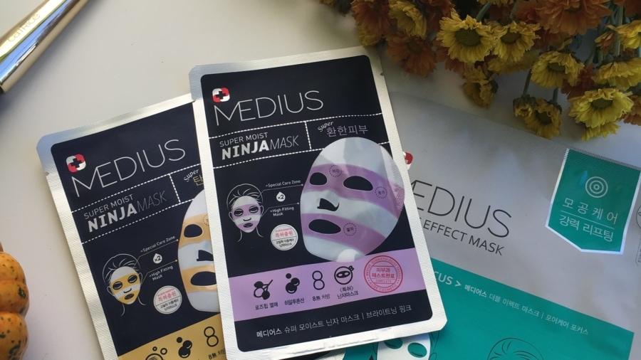 Medius - 3 maski w płacie
