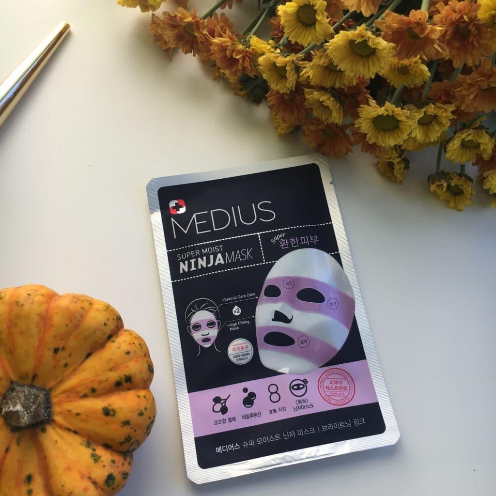 Medius - Ninja Mask - Brightening Pink