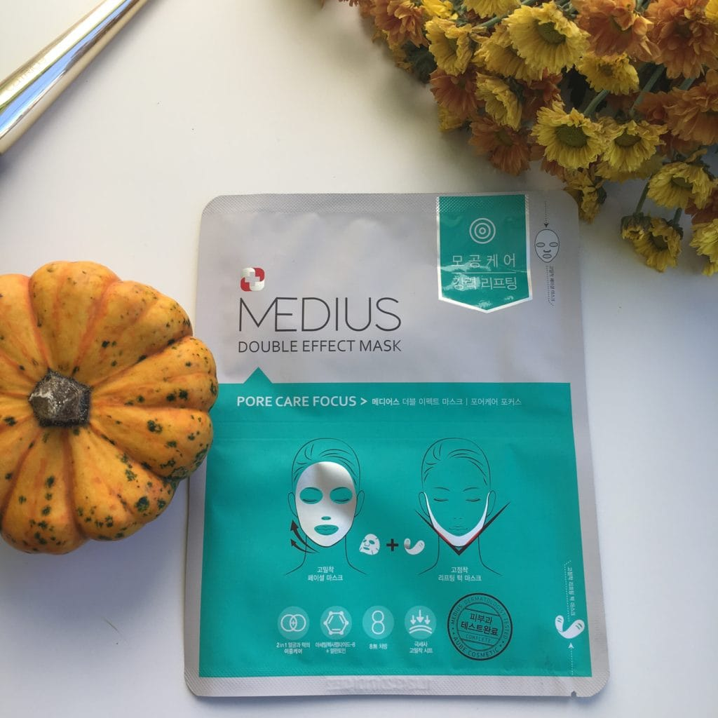 Medius - Dobule Effect Mask - Pore Care Focus