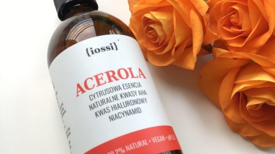 Iossi - Acerola - Cytrusowa Esencja z kwasami AHA, kwasem hialuronowym i niacynamidem