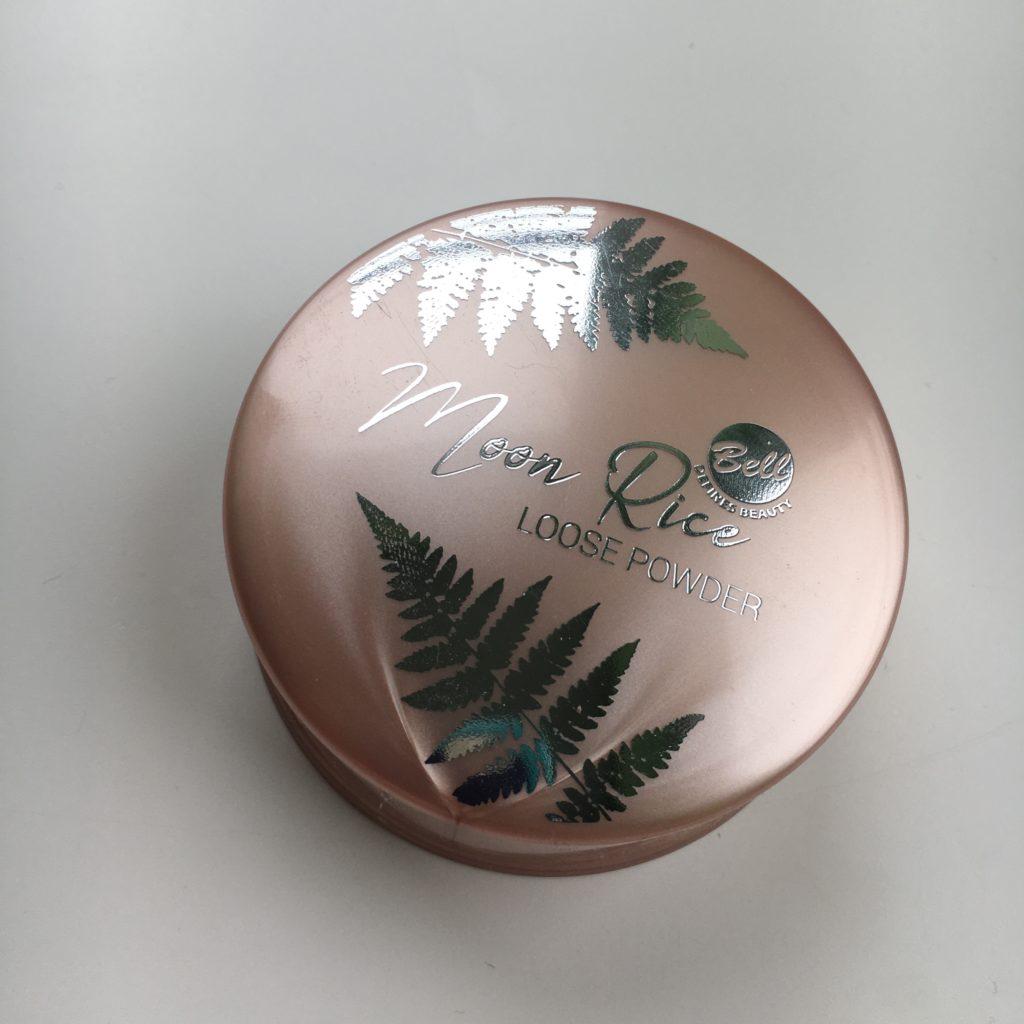 Bell – Moon Rice – Sypki puder ryżowy utrwalający makijaż