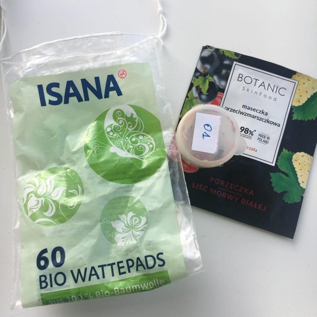Botanic Skinfood, Isana, Reverse
