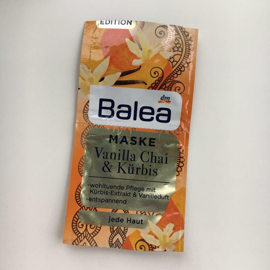 Balea - Maske - Vanilla Chai & Kurbis