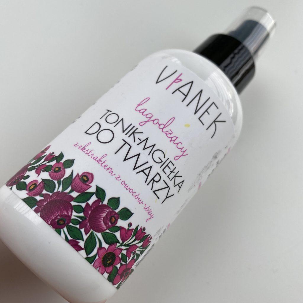 Vianek – Łagodzący tonik-mgiełka do twarzy z ekstraktem z owoców róży