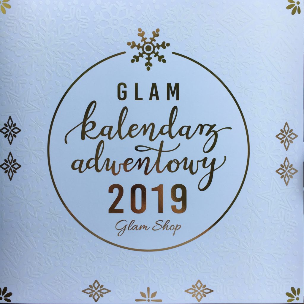 Duży kalendarz adwentowy Glam Shop 2019