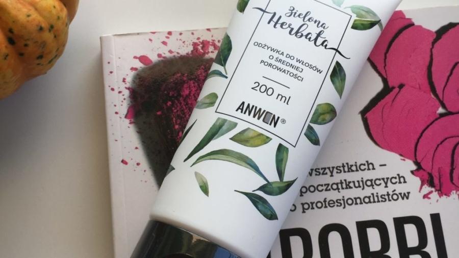 Anwen - Odżywka do włosów o średniej porowatości - Proteinowa zielona herbata
